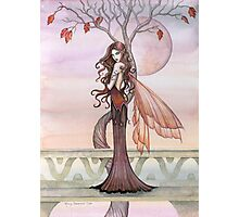 Autumn Fairy Art by Molly Harrison Photographic Print