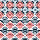 Deco Rhombus by Paula Belle Flores
