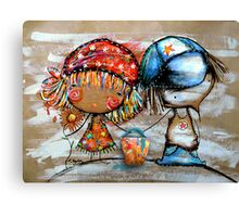 Jack and Jill  Canvas Print