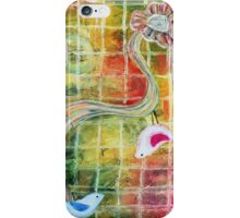 Birds and Flower  iPhone Case/Skin