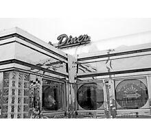 Diner 10 BW Photographic Print