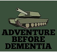 Amored Tank Adventure Before Dementia Photographic Print