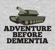 Amored Tank Adventure Before Dementia by Chimpocalypse