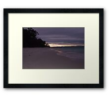 Night Time Bliss Framed Print