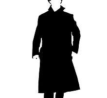 Sherlock Holmes Silhouette by nosheetsherlock