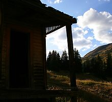 View from an old porch by KDPhotos