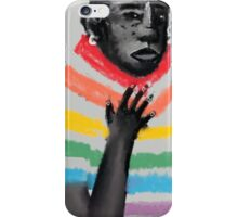 rainbow suit iPhone Case/Skin