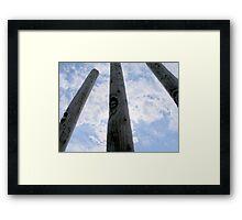 Totem. Framed Print