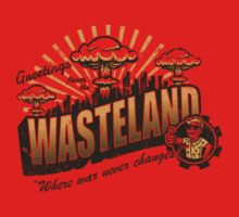 Greetings from the Wasteland! Kids Clothes