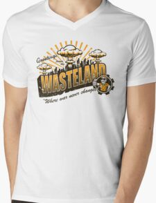 Greetings from the Wasteland! Mens V-Neck T-Shirt