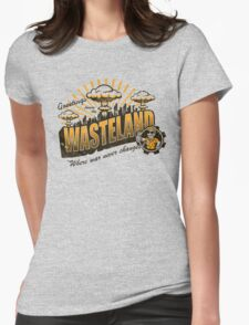 Greetings from the Wasteland! Womens Fitted T-Shirt