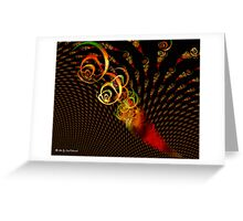 Apophysis Trace Greeting Card