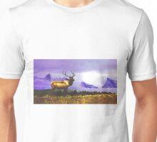 Elk- Jasper National Park, Canada Unisex T-Shirt