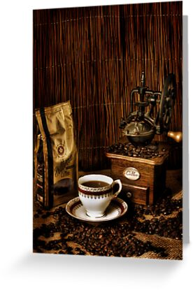 Coffee  by Samantha Cole-Surjan