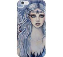 Sapphire Mystical Fairy Fantasy Art by Molly Harrison iPhone Case/Skin