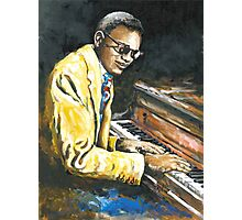Study of Ray Charles Photographic Print