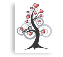 Love growth Canvas Print