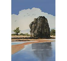 Alley Rock Photographic Print