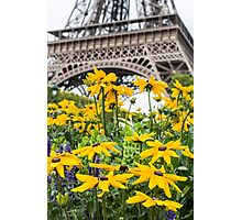 Eiffel Flower Photographic Print
