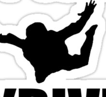 Skydiving Not For You Sticker