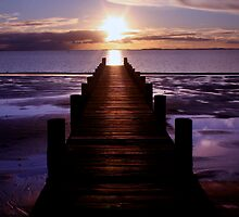 Jetty Lines by Steve Chapple