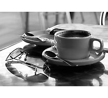 Cafe Solo Photographic Print