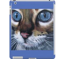 Blue eyed cat iPad Case/Skin