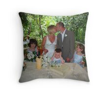 Wedding Kiss Throw Pillow