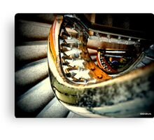 Staircase .... liverpool Castle street Canvas Print