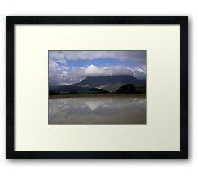 photoj Tas Mt Roland Sheffield Framed Print