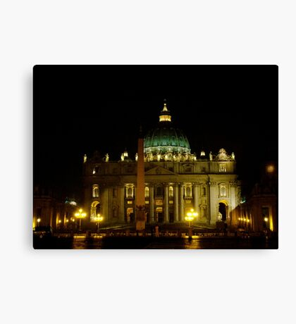 Holy Light Canvas Print