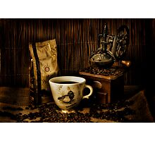 My Favourite Coffee Mug Photographic Print