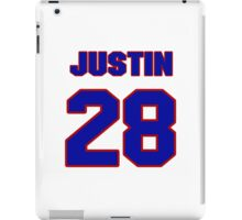 National football player Justin Forsett jersey 28 iPad Case/Skin