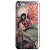 Autumn Flame Fairy Fantasy Art by Molly Harrison iPhone Case/Skin