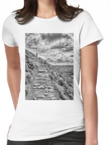 Path to the sky Womens Fitted T-Shirt