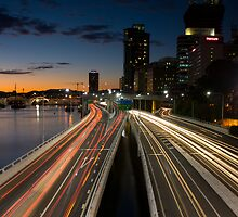 Brisbane Rush Hour by Chris Putnam