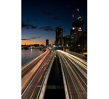 Brisbane Rush Hour Photographic Print