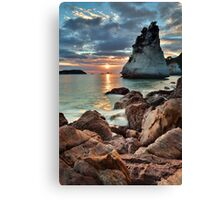 Te Hoho Amber Sunrise Canvas Print