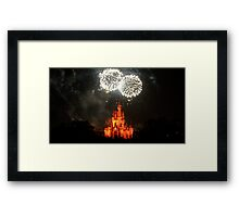 Fireworks Fantasy Framed Print