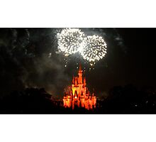 Fireworks Fantasy Photographic Print