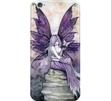 Letting Go Fairy Art with White Butterfly iPhone Case/Skin