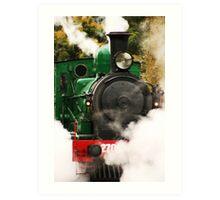 Steam Art Print
