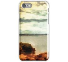 Stormclouds Over The Island iPhone Case/Skin