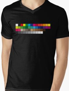 BasiCMYK Mens V-Neck T-Shirt