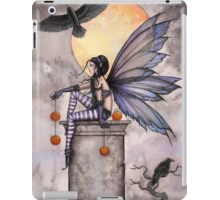 Autumn Raven Fantasy Gothic Fairy and Ravens  iPad Case/Skin