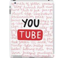 Youtubers collage iPad Case/Skin