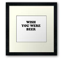 beer b Framed Print