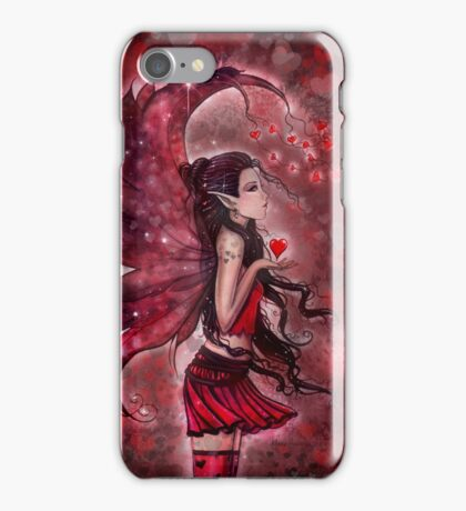 Hearts Valentine Heart Fairy by Molly Harrison iPhone Case/Skin