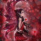 Hearts Valentine Heart Fairy by Molly Harrison by Molly  Harrison
