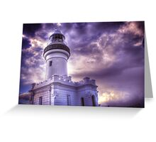 Byron Lighthouse HDR Greeting Card